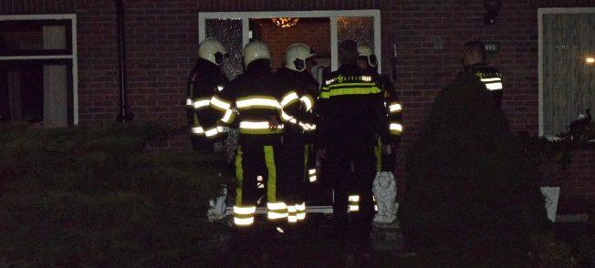 Brandweer rukt uit voor gaslucht in woning