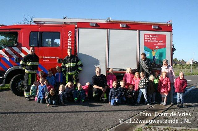 Groep 2 Van Ibs T Pompebled Bij De Brandweer 112 Zwaagwesteinde Nl